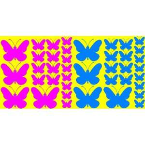 Butterfly Wall Stickers Words Decals