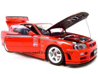 NISSAN SKYLINE NISMO R TUNE GTR R34 118 AUTOART MODEL