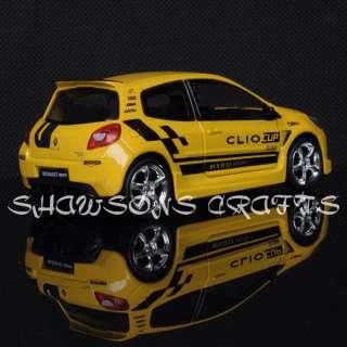 DIECAST 1/32 SOUND & LIGHT PULL BACK RENAULT SPORT MODEL CAR
