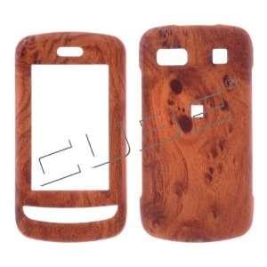 LG Xenon GR500 Light Wood Grain Design Hard Case/Cover/Faceplate/Snap