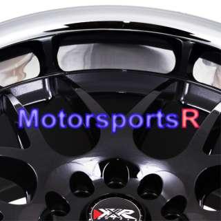 17 XXR 526 Black Mesh Rims Staggered Wheels 95 97 98 Nissan 240sx S13