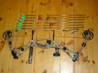Hoyt Katera Left Hand Compound Bow Package Hostage rest, Truoglo sight
