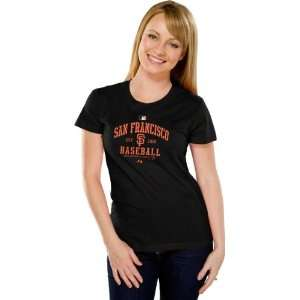 San Francisco Giants Womens Authentic Collection Black