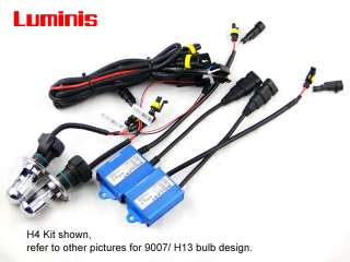 Bi Xenon HID Slim KIT H4 9003 9007 9004 H13 9008 high low beam bixenon
