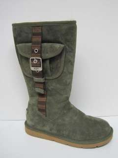 Ugg Australia womens Retro cargo olive boots $200 New