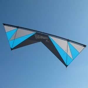 Revolution 1.5 SLE Quad Line Stunt Kite Black, Blue, and