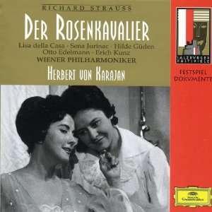 Strauss Der Rosenkavalier Lisa della Casa, Sena Jurinac