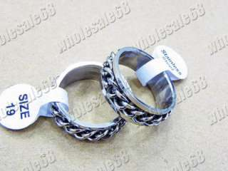 New wholesale bulk lots 30ps new style Stainless steel Mans silver