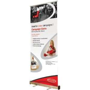 Retractable Banner Stand   Full Color Banner Included