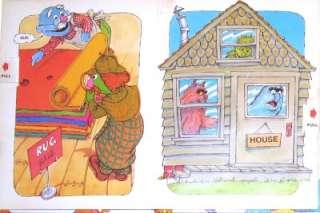 Hardbound copy of Big Birds Rhyming Book (featuring Jim Hensons