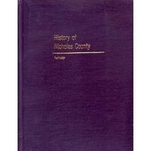 of Nicholas County Kentucky Joan Weissinger Conley  Books