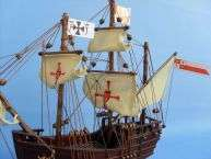 Pinta 12 Wooden Model Ship Christopher Columbus
