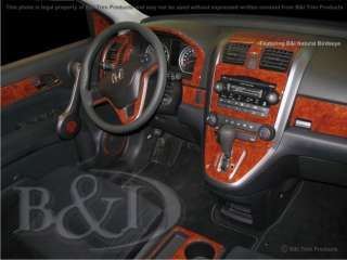 HONDA CRV 07 08 09 WOOD GRAIN DASH KIT TRIM 54 PCS NEW |