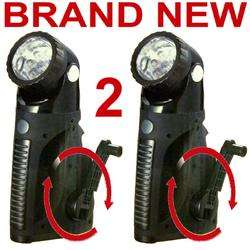 HAND CRANKED SPOTLIGHTS,RECHARGEABLE LED FLASHLIGHTS