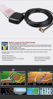 Eonon 7 HD LCD Touchscreen Steer Wheel Car GPS DVD Player for Golf b9