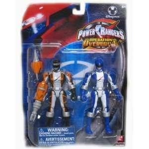 Power Rangers Operation Over Drive Torque Black Ranger & Blue Ranger