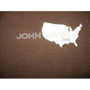 XL T shirt John Mayer   Fall 2006 Tour (extra large