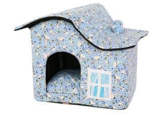 new indoor dog house pet house tent puppy carrier bed C