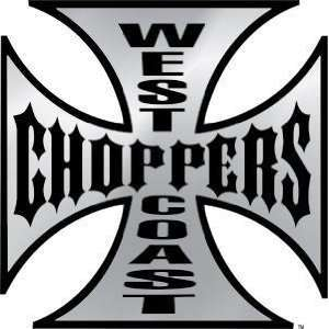West Coast Choppers Die Cut Decals/Stickers   5 Decals/Sticker in 3