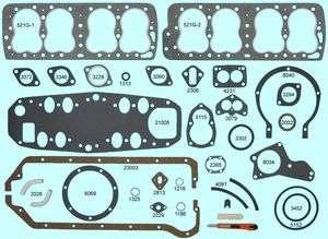 Ford Mercury 239 Flathead V8 Full Gasket Set BEST 1948 49 50 51 52 53