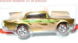 57 1957 CHEVY BEL AIR HOT WHEELS DIECAST CLASSICS 3