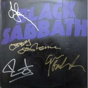 Black Sabbath Master of Reality Autographed Signed Record Album