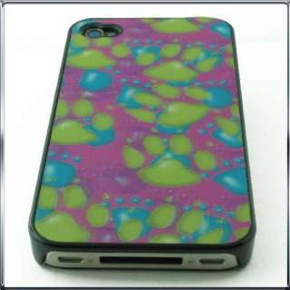 4G 4TH APPLE iPhone 4 SHELL COVER CASE PROTECTOR PAWS