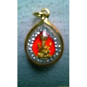 ! Lucky Pra Pickanet (God of Success) Wat Khaek Thai Amulet Pendant