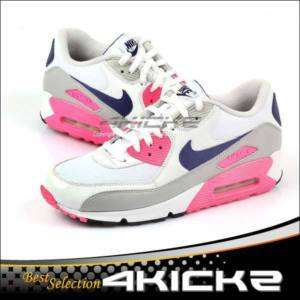 Nike Wmns Air Max 90 White/Asian Concord Laser Pink