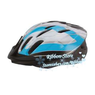 24 Holes Sports Bike Bicycle Blue White Helmet Size L