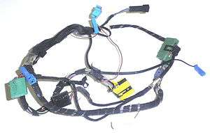 COMPUTER WIRE HARNESS INSTRUMENT CLUSTER BMW E28 535 528 M5 84 87