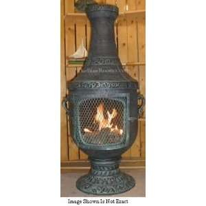ALCH026GAGKNG Gas Powered Venetian Chiminea Outdoor