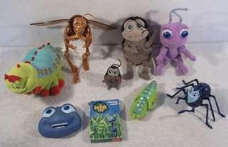 of Disney A BUGS LIFE toys figures flik dot atta hopper circus bugs A