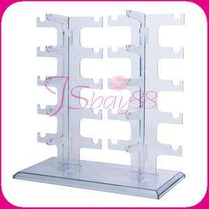 Sunglasses Eyeglasses Glasses Rack Holder Frame Display Stand Showcase