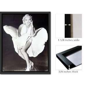 Framed Marilyn Monroe Legend Dress Blow Poster Fr16246