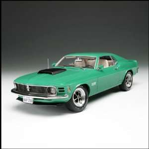 1970 Ford Mustang Boss 429 in Grabber Green   1/18 Scale