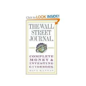 Wall Street Journal Complete Money and Investing Guidebook (The Wall