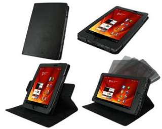 Leather Folio Case Stand Cover for Acer Iconia Tab A100 7 Inch