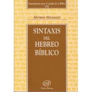 el estudio de la Biblia VIII) (9788481694796): Alviero Niccacci: Books