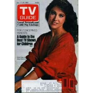 : TV Guide December 17, 1983 Erin Gray on Silver Spoons, Earl Hamner