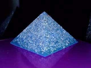 Orgone Tesla Radionics Activator Chi Om Mantra Pyramid