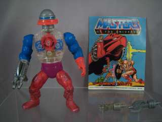 Roboto 100% Complete with Mini Comic Masters of the Universe MOTU He