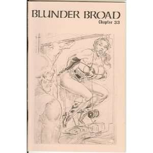 Broad Chapter 33 (Blunder Broad, 33) Turk Winter, Eric Stanton Books