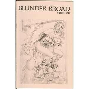 Broad Chapter 33 (Blunder Broad, 33) Turk Winter, Eric Stanton Books