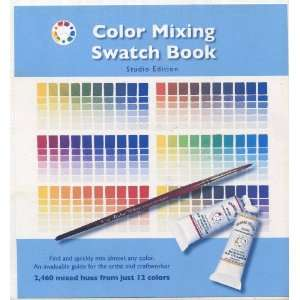 Colour Mixing Swatch Book (9780967962863) Michael Wilcox Books