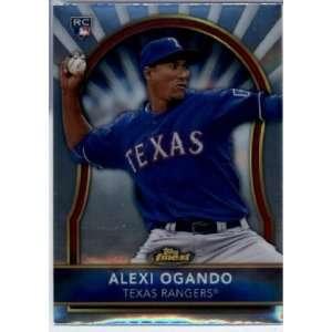 2011 Topps Finest #89 Alexi Ogando RC   Texas Rangers (RC