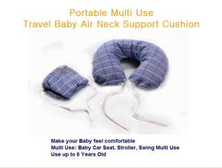 Portable Multi Use Baby Air Neck Support Cushion Travel Pillow_Steal
