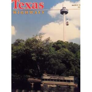 Texas Highways Aquarena Antics (March, 36) Frank Lively Books