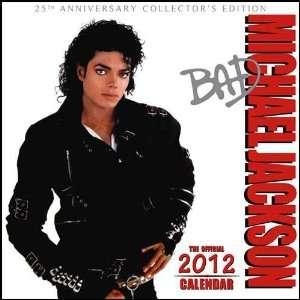 Michael Jackson 2012 Wall Calendar