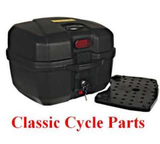 Universal Motorcycle Travel Trunk Luggage Box HARLEY DAVIDSON NEW